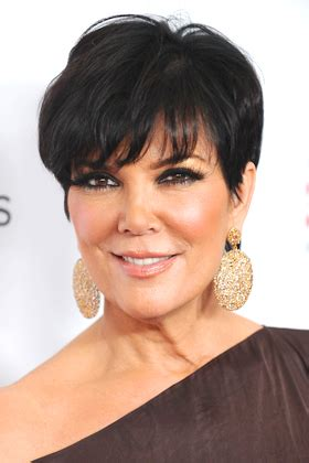 kim kardashians mums hair styles chic trendy hairstyles for women over 40