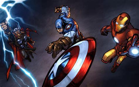 film thor captain america thor ironman captain america wallpaper 1000223