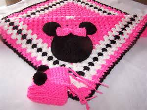 Hand crocheted minnie mouse granny square baby by crafttgram