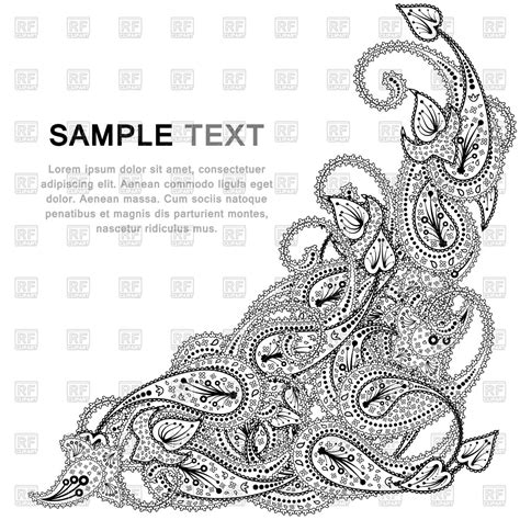 paisley pattern vintage royalty free vector image paisley pattern vector image vector artwork of backgrounds textures abstract 169 angelp