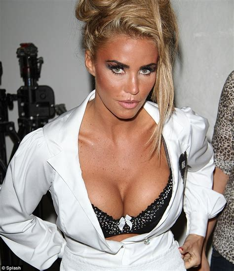 kate scow lab katie price in suspenders stockings to launch new tv