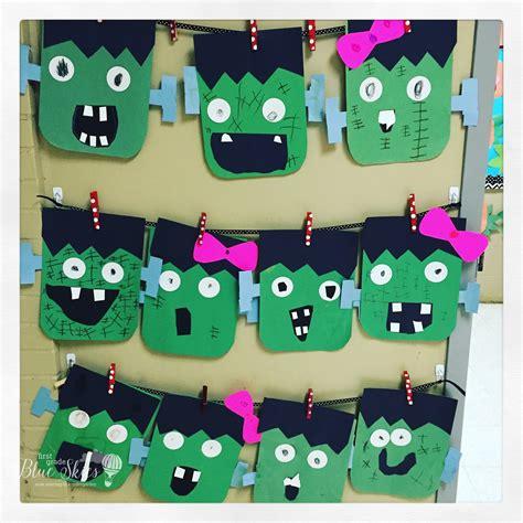 crafts for 1st graders frankenstein craft freebie grade blue