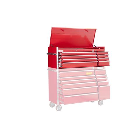 56 in 8 drawer glossy roller cabinet top chest