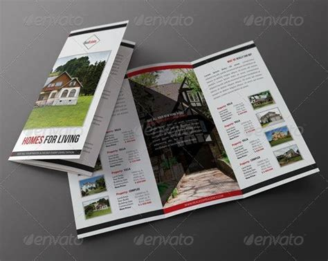 real estate tri fold brochure template 60 free premium psd brochure templates webprecis