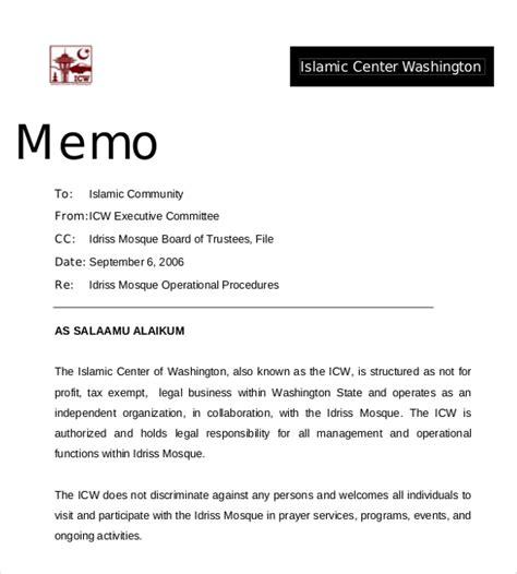 15 professional memo templates free sle exle