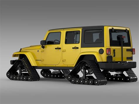 jeep models 2016 jeep wrangler unlimited x1 crawler 2016 3d model
