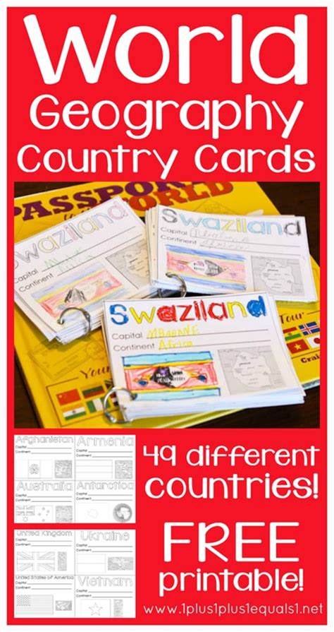 printable postcards from around the world free world geography cards printables free homeschool