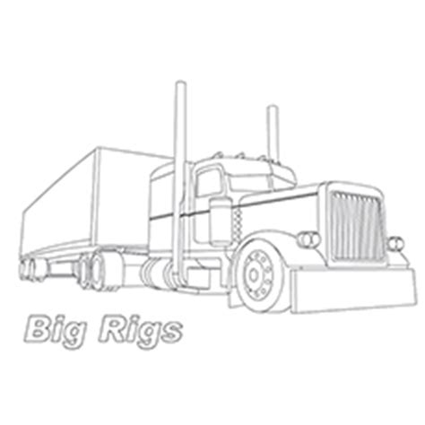 peterbilt semi truck coloring pages sketch coloring page semi truck coloring book pages murderthestout