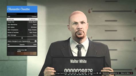 Auto Walter White by Grand Theft Auto 5 V How To Make Walter White