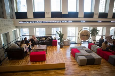 WeWork: Now a $5 Billion Co Working Startup WSJ