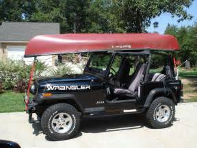 jeep kayak rack how to spotlight canoe rack install for soft top jk forum