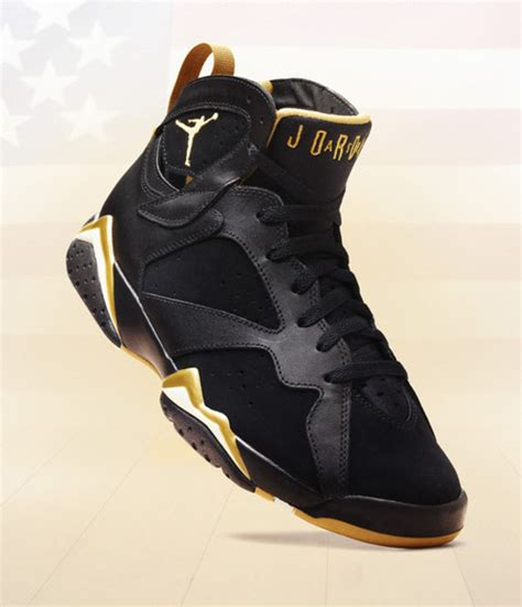 shoes airjordan 7s gold and white sneakers