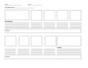 Interactive Storyboard Template by Storyboard Template By Cozziebrett Teaching Resources Tes