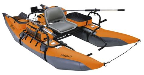 inflatable pontoon boat vs kayak colorado xt inflatable pontoon boat folds up into portable