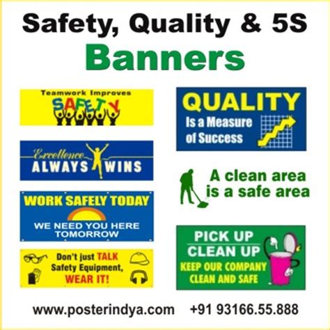safety 5s banners haryana other services haryana