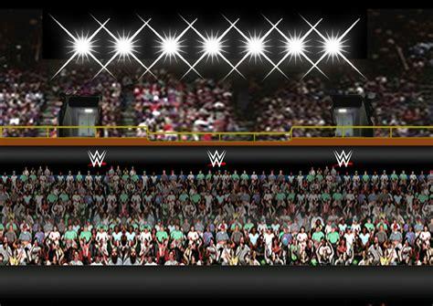 raw smackdown ecw arena in progress wrestlingfigs