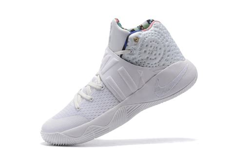 all white basketball shoes 2017 cheap nike kyrie 2 what the all white sail