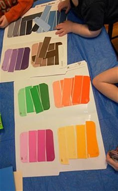 theme unit about colors on mouse paint color wheels and crayon box
