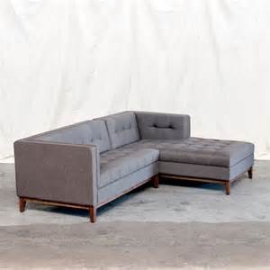 atwood sectional tweed ink modern new york by