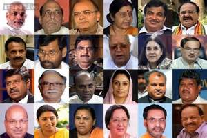 Ministers In Modi Cabinet Narendra Modi Cabinet 630 260514 Jpg