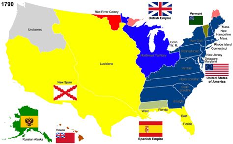 map of united states in 1820 usa immigration from the beginning part 2 the period 1790
