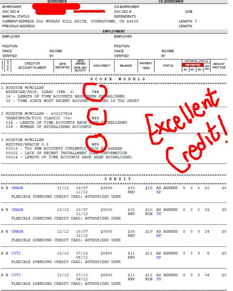 Credit Report Format Equifax 28 Sle Equifax Credit Report How To Read Your Credit Reports Sle Equifax Credit