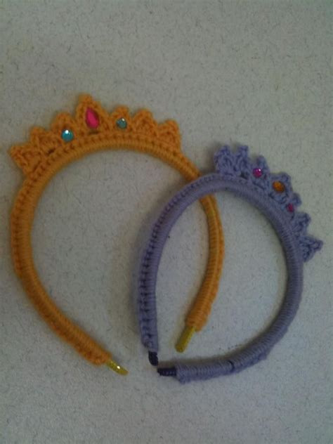 free crochet pattern for baby tiara 57 best crochet baby tiaras crowns images on pinterest