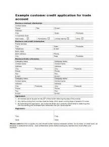 free credit application template 40 free credit application form templates sles