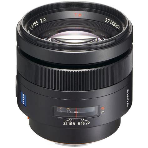 Sony Z Lens sony planar t 85mm f 1 4 za lens sal85f14z b h photo