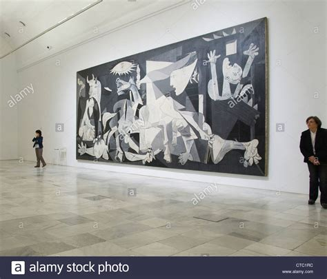 picasso paintings in madrid anti war painting guernica by pablo picasso hanging at the