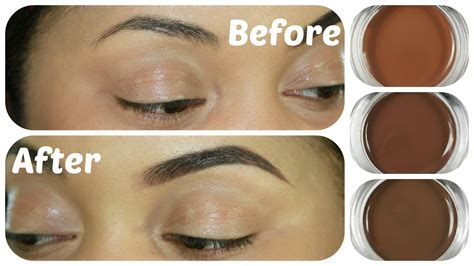 dipbrow colors brow tutorial swatches review beverly