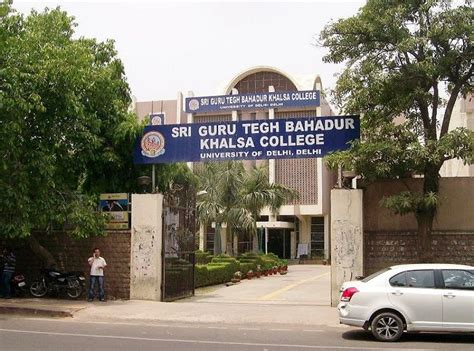 Delhi School Of Economics Mba Fees by Fee Structure Of Sri Guru Teg Bahadur Khalsa College Sgtb