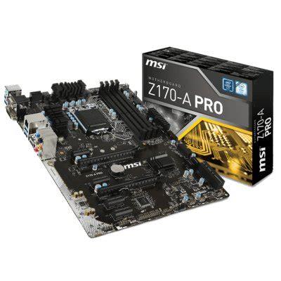 Msi Z170 A Pro placas base msi z170 a pro pcexpansion es