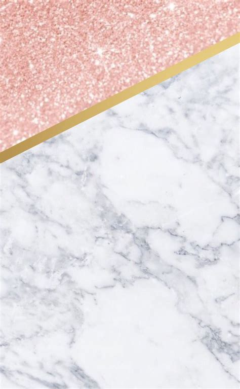 cute iphone wallpaper marble rose gold  gold phone