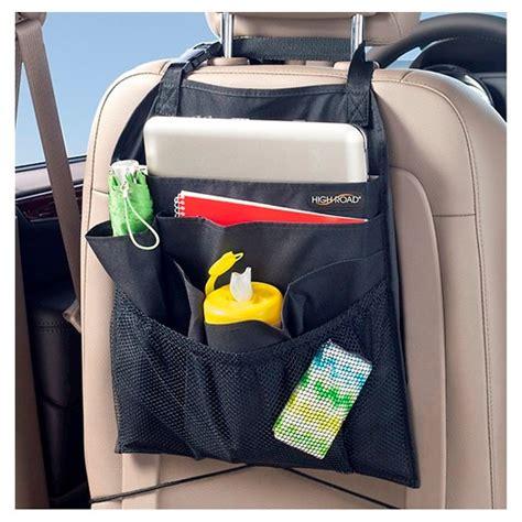 car seat organizer target high road backpockets car seatback organizer black target