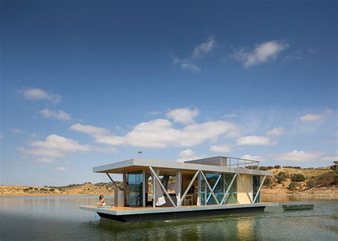 floating home tour floatwing designed by friday modular floating house by friday urdesignmag