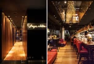 Banquette Seating Design Sneak Peek Restaurant Design At W Hotel London Hotel