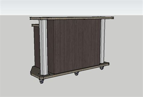 Furniture Envisionary Images Portable Reception Desk