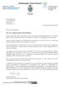 Complaint Letter Sle To Town Council Andy Strangeway Caigner And Adventurer Sleeping In Remote Uk Locations Page 18
