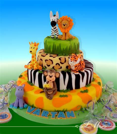 tortas en decoracion en safari lorena meinero tortas decoradas