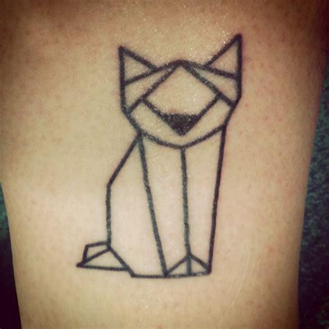 tattoo geometric uk newest tattoo simple fox from paul terry skin kandi st