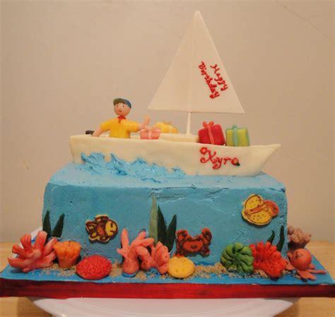 sailing boat birthday cake images sailboat cakes decoration ideas little birthday cakes