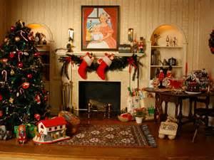 Christmas Rooms Studio B Miniatures Vignettes Christmas Room 1