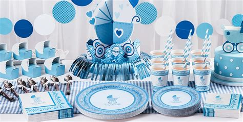 Stroller Baby Shower Theme by Blue Stroller Baby Shower Supplies City
