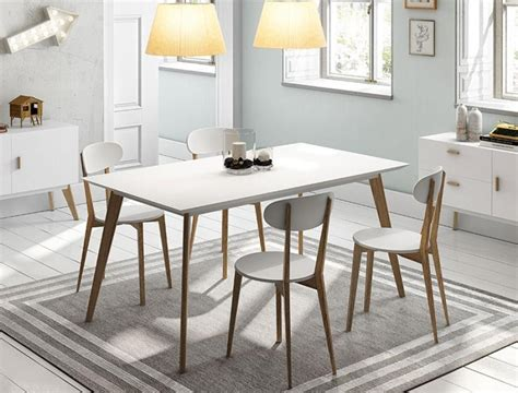 wood table white legs dining tables with white legs and wooden top dining room