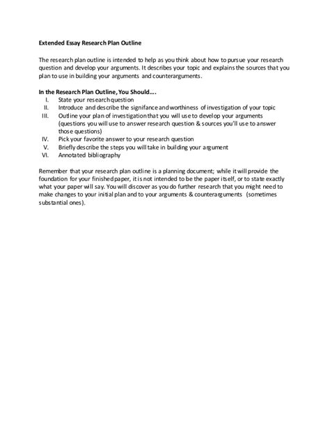 what is a prospectus for a research paper extended essay research plan paper prospectus