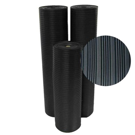 Corrugated Rubber Mat by Quot Corrugated Composite Rib Quot Rubber Runner Mats The Rubber