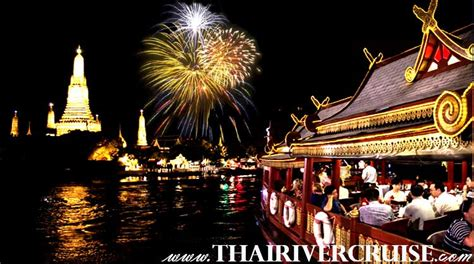 new year 2019 thailand new years bangkok 2019 new years dinner cruise