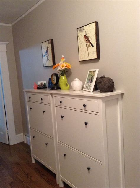 ikea shoe storage hack double hemnes shoe cabinet hack google search emily