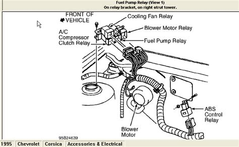 service manual how to check fuel relay on a 1995 gmc jimmy where is the fuel pump relay